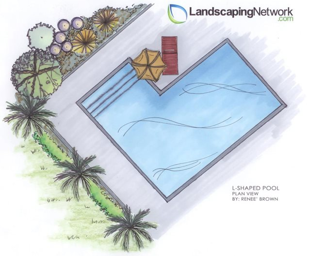 Swimming pool shapes landscaping network for Pool design drawings
