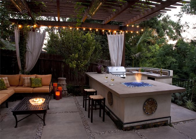 Outdoor Kitchen Layouts – Samples & Ideas - Landscaping ...