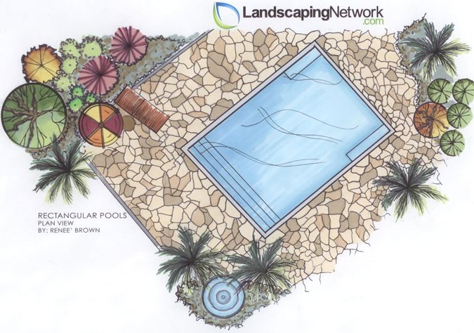Swimming Pool Shapes Landscaping Network