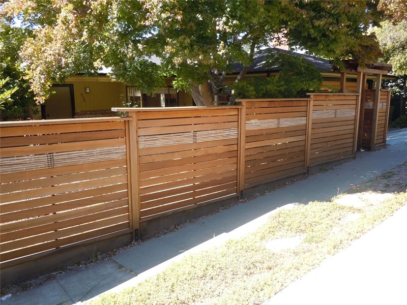 Asian Fence Design Asian Landscaping Sea View Fences and Gates Berkeley, CA