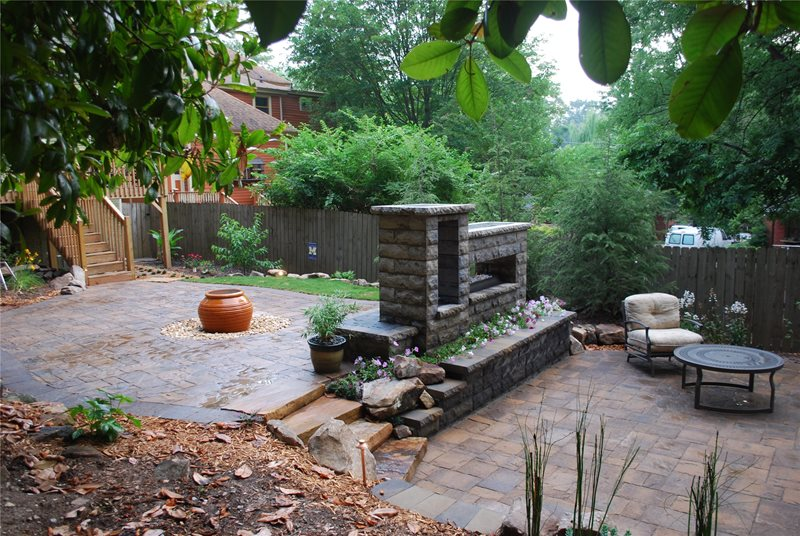 Backyard Getaway Backyard Landscaping FernGully Landscapes Hoschton, GA