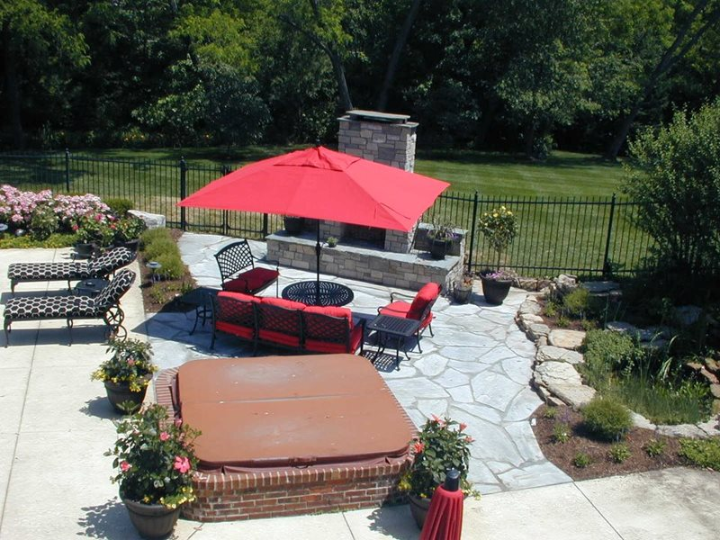 Backyard Landscaping St Louis Mo Photo Gallery