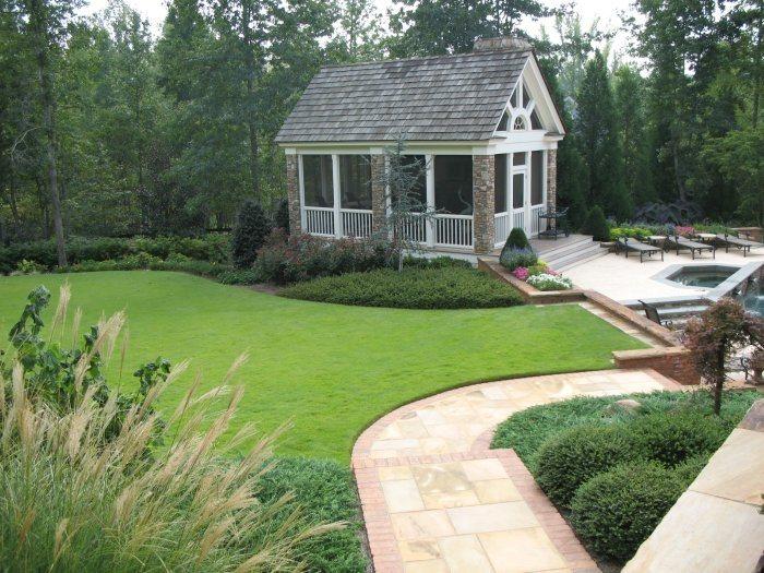 Backyard Landscaping Huntsville Al Photo Gallery
