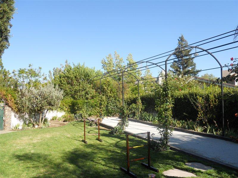 Backyard Recreational Area Backyard Landscaping The Green Scene Chatsworth, CA