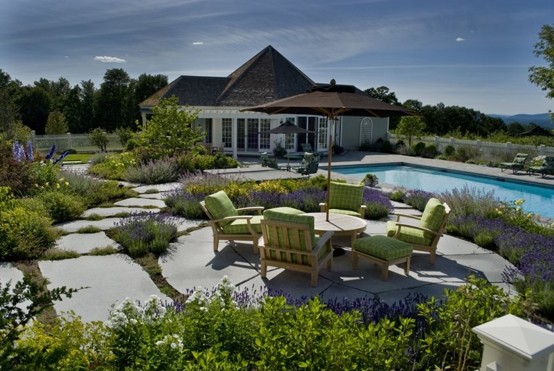 Backyard Landscaping - Warner NH - Photo Gallery - Landscaping Network