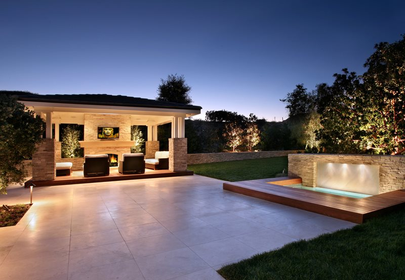 Backyard landscaping newport beach ca photo gallery Large backyard design ideas