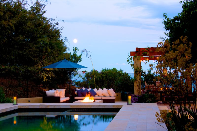 Malibu Backyard Backyard Landscaping Fiore Design North Hollywood, CA