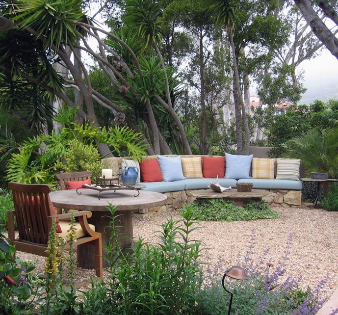 Blue garden santa barbara ca photo gallery for Find local garden designers