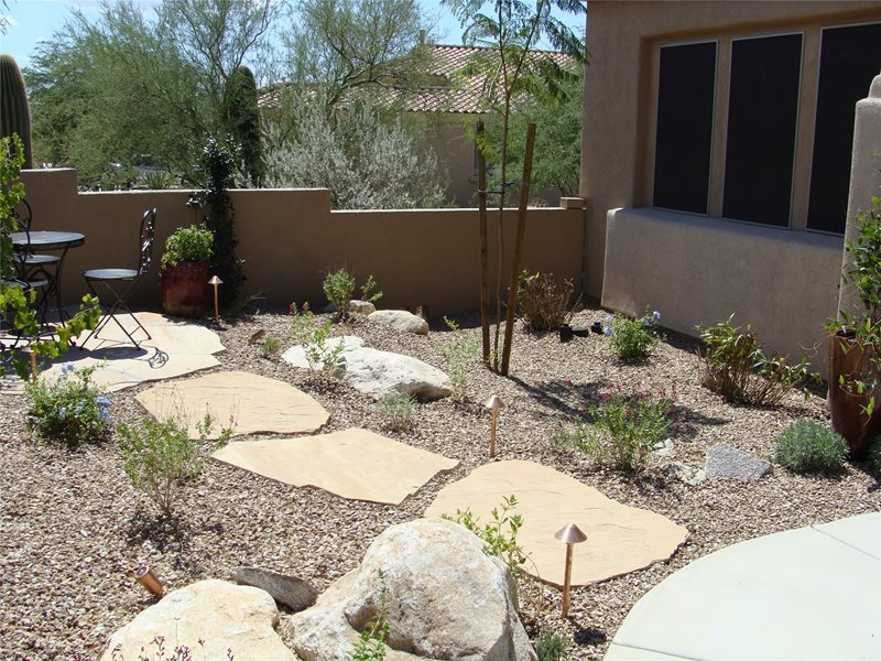 Boulder Casa Serena Landscape Designs LLC Las Cruces, NM