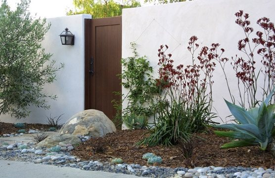 Large Gate Boulder Grace Design Associates Santa Barbara, CA