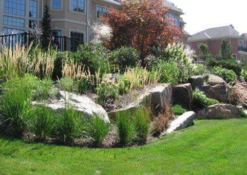 Natural Stones, Retaining Boulder Cipriano Landscape Design Mahwah, NJ