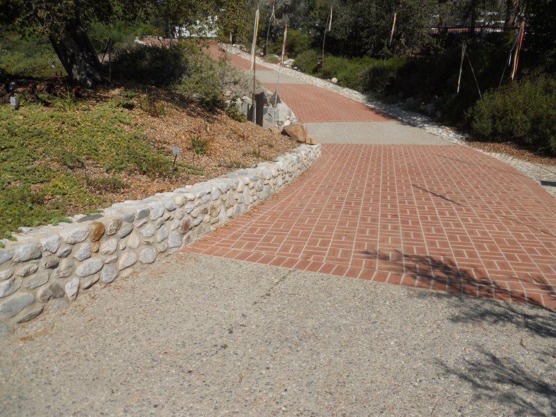 Brick Driveway Brick Hardscaping Landscaping Network Calimesa, CA