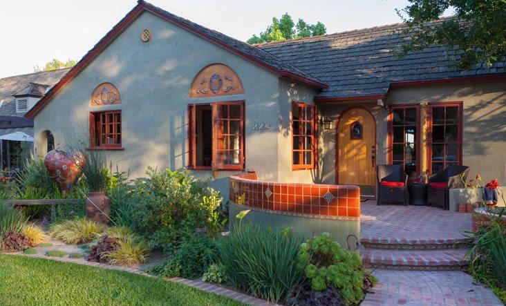 Brick Steps, Brick Porch Brick Hardscaping Terry Design Inc Fullerton, CA
