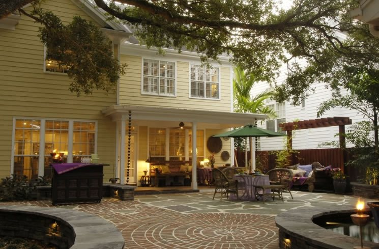 Patio Brick Hardscaping Bayscapes Tampa, FL