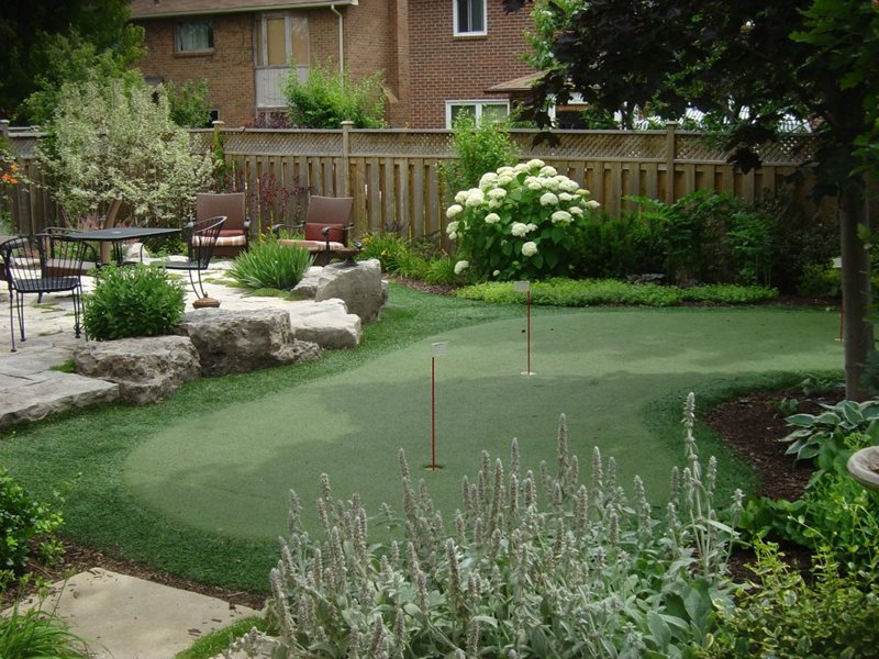 Canada Landscaping - Puslinch, ON - Photo Gallery ... on Small Backyard Putting Green id=62106