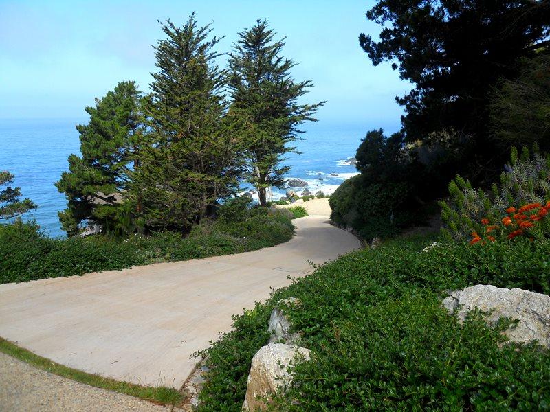 Long Driveway, Concrete Driveway, Steep Driveway Concrete Paving Landscaping Network Calimesa, CA