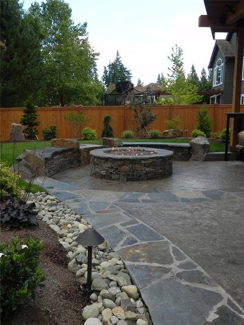 Concrete Paving Sublime Garden Design Snohomish, WA