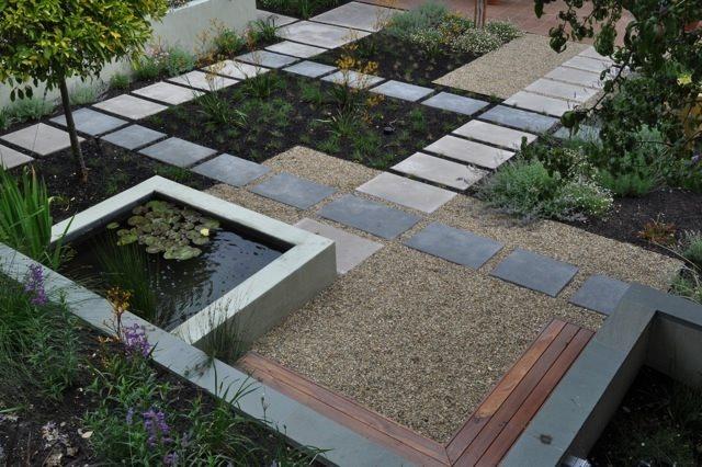 Concrete Walkway Huettl Landscape Architecture Walnut Creek, CA