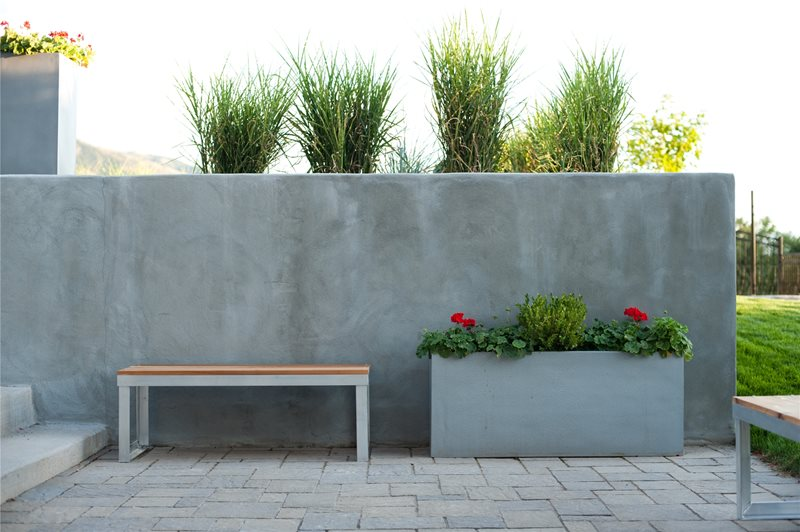 Pool Retaining Wall Container Gardens Ag-Trac Enterprises Logan, UT