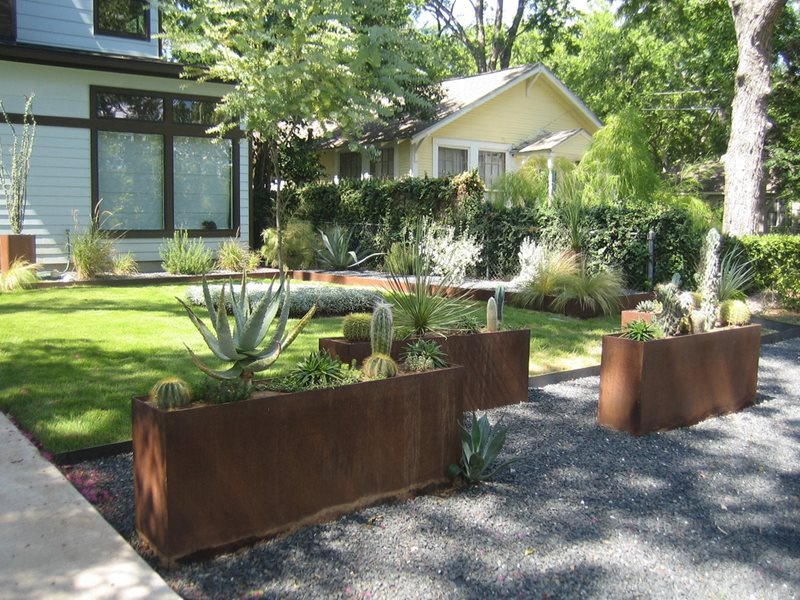 Container Gardens Austin Tx Photo Gallery Landscaping Network
