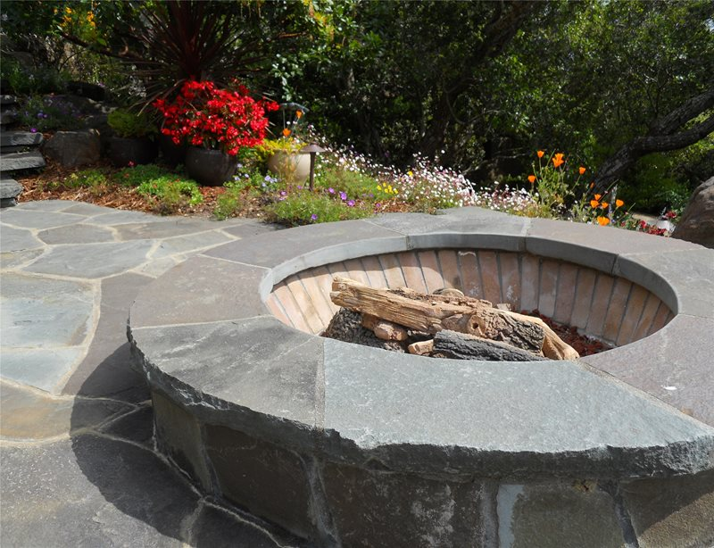 Fire Pit Country Landscape Design Landscaping Network Calimesa, CA