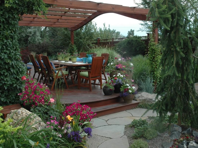 Country landscape design boulder co photo gallery for Find local garden designers