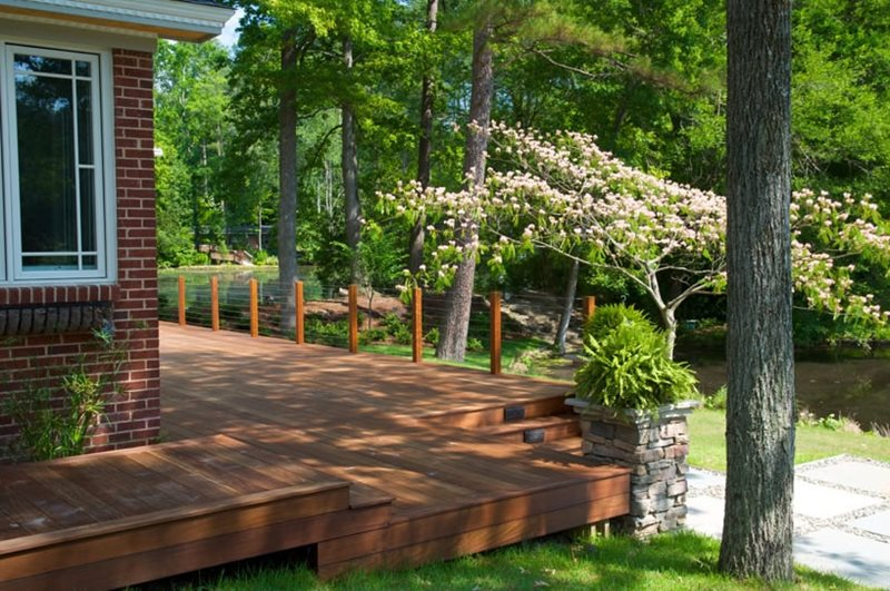 Landscaping Pictures For Decks : Deck design columbia sc photo gallery landscaping network