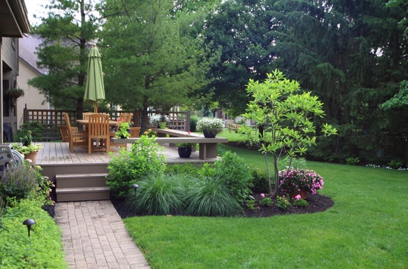 Deck design hilliard oh photo gallery landscaping - Garden patio ideas pictures ...
