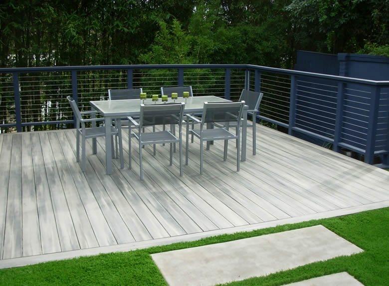 Los Angeles Wood Deck Deck Design Alison Flesch Landscape Design Los Angeles, CA