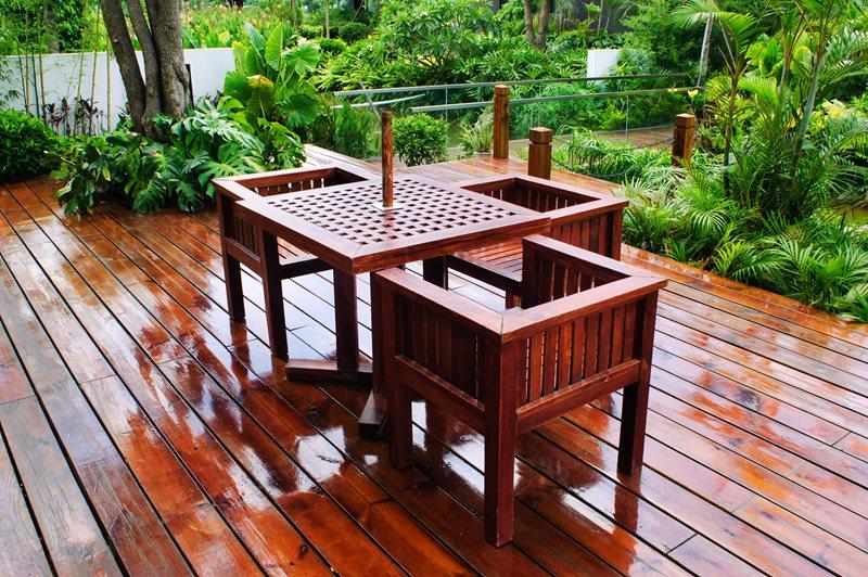 Tropical Deck Deck Design Landscaping Network Calimesa, CA