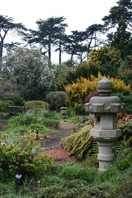 Asian Landscape Design, San Francisco Botanical Garden Decor and Accessory Genevieve Schmidt Landscape Design and Fine Maintenance Arcata, CA
