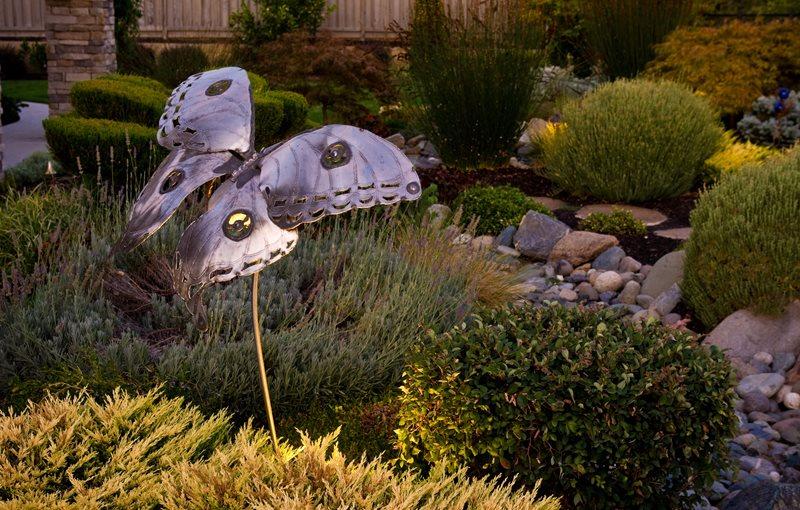 Kinetic Garden Art, Metal Butterfly Decor and Accessory Simple Elegance Rocklin, CA