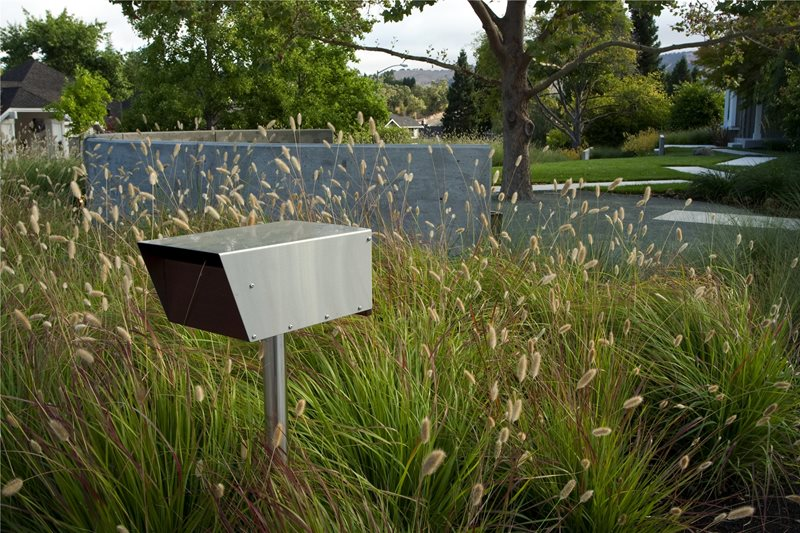 Security Camera Decor and Accessory Shades of Green Landscape Architecture Sausalito, CA