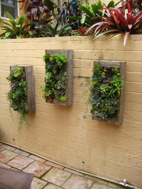 Wall Mounted Planters Decor and Accessory Landscaping Network Calimesa, CA