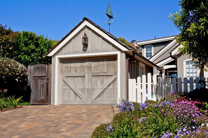 Paver Driveway, Rustic Garage Driveway Landscaping Network Calimesa, CA