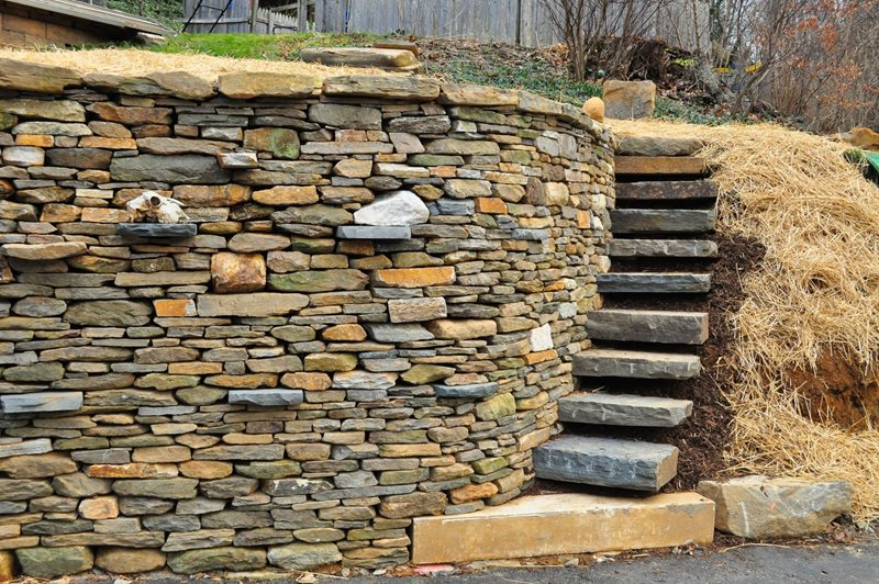 Bluestone Steps Entryways, Steps and Courtyard Rockin Walls Hampstead, MD