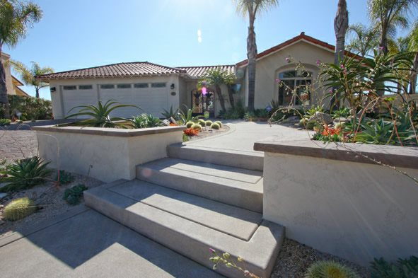 Concrete, Stairs Entryways, Steps and Courtyard DC West Construction Inc. Carlsbad, CA