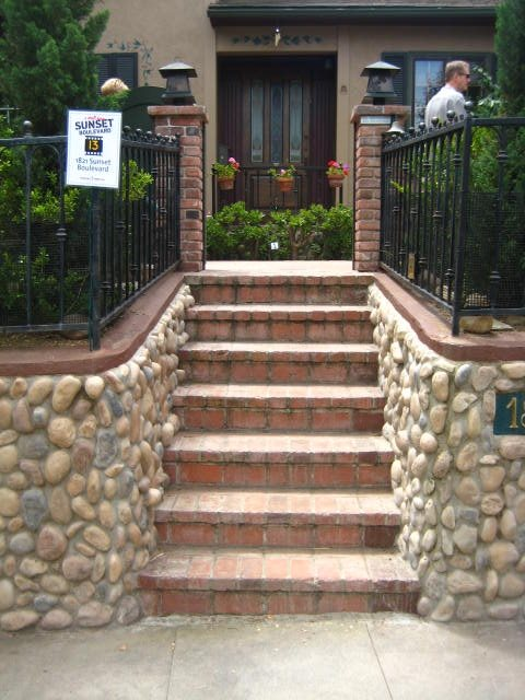 Steps, Rocks Entryways, Steps and Courtyard Landscaping Network Calimesa, CA