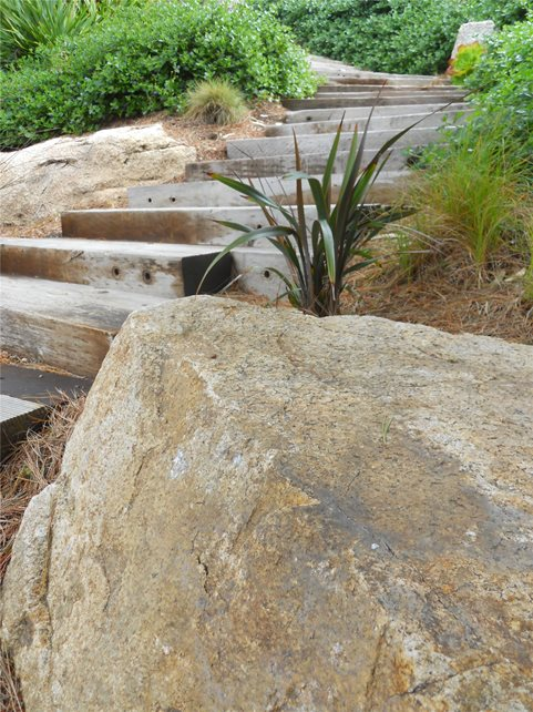 Wood, Steps Entryways, Steps and Courtyard Landscaping Network Calimesa, CA
