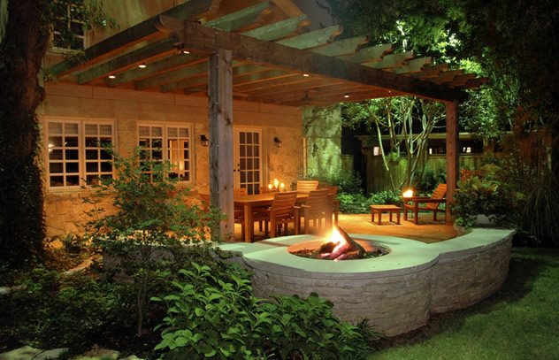 Fire Pit - Dallas, TX - Photo Gallery - Landscaping Network