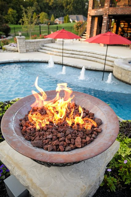 Fire Pit St Louis Mo Photo Gallery Landscaping Network