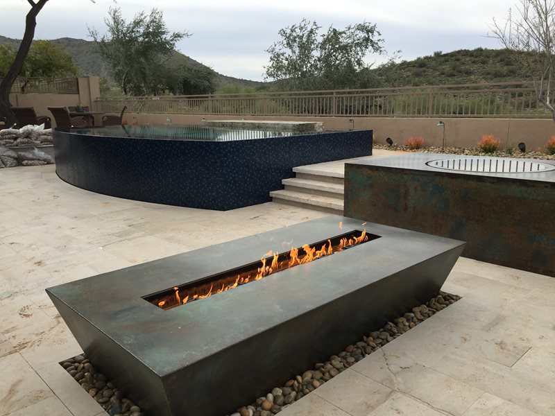 Fire Table Fire Pit Bobe Water & Fire Features Phoenix, AZ