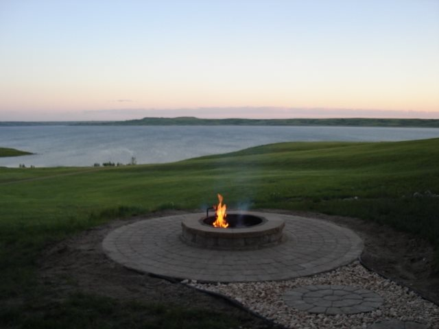 Fire Pit Hildebrand Construction Kindred, ND