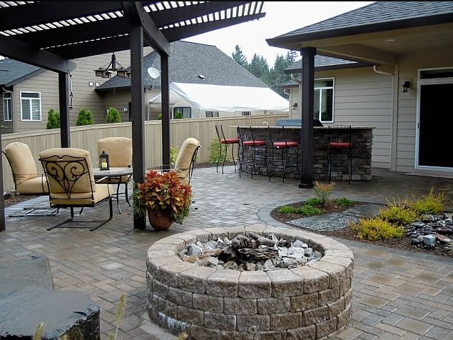 Fire Pit Woody's Custom Landscaping Inc Battle Ground, WA