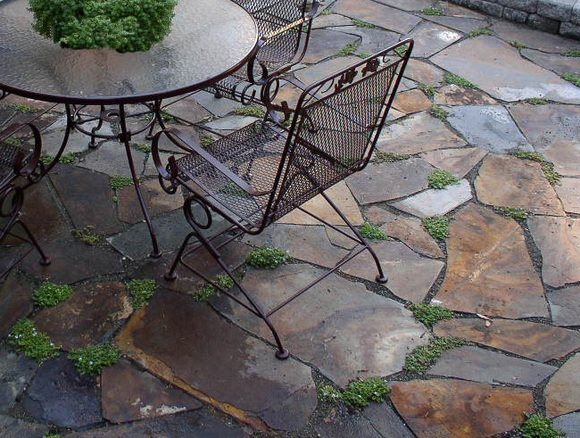 Brown Flagstone, Flagstone Patio Flagstone Patio Lifestyle Landscapes Seattle, WA