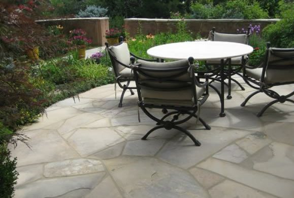Flagstone, Patio Flagstone Patio Accent Landscapes Colorado Springs, CO