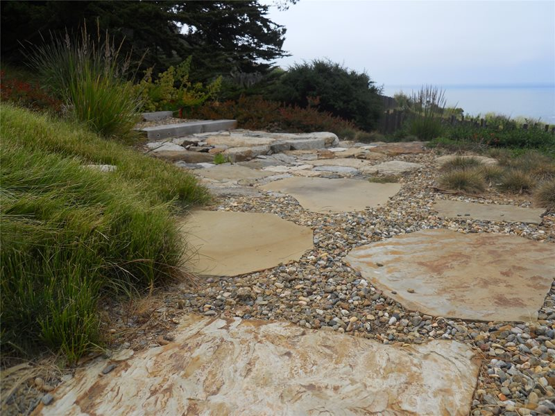 Paving Flagstone Walkway Landscaping Network Calimesa, CA