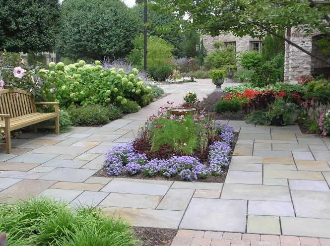 Flagstone allentown pa photo gallery landscaping for Find local garden designers