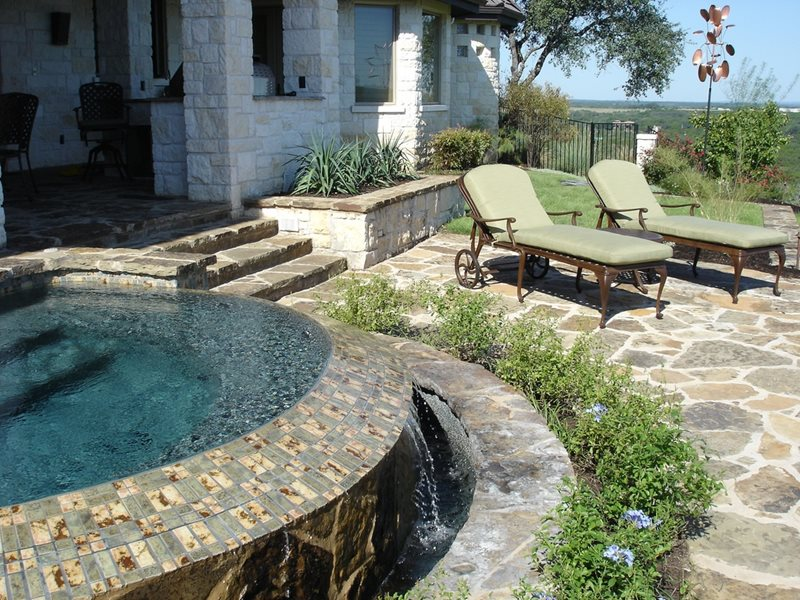 Flagstone austin tx photo gallery landscaping network Flagstone patios colleyville tx