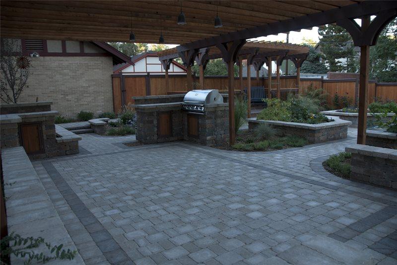 Foodie Backyard - Centennial, CO - Photo Gallery ... on Arcadia Backyard Designs id=82139
